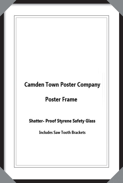 Selection Of Different Size Poster Frames - Camden Town Poster Company