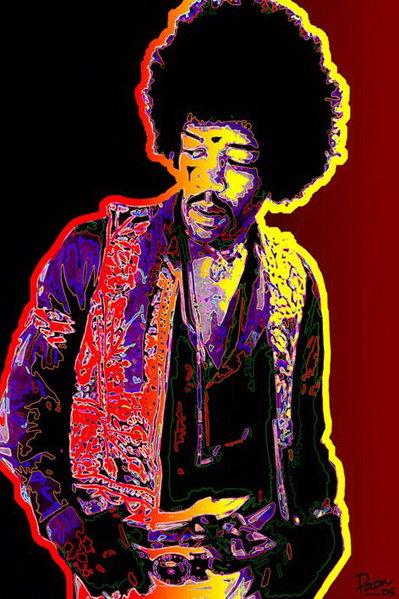 Jimi Hendrix - Psychedelic Prints at AllPosters.com