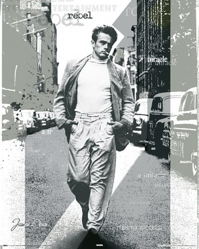 james dean rebel st pop art mini paper poster camden. Black Bedroom Furniture Sets. Home Design Ideas