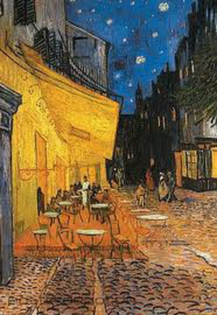 Vincent Van Gogh Caf 233 Terrace At Night Maxi Paper