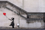 Banksy Balloon Girl There Is Always Hope Canvas Art Print