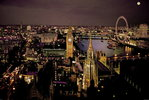 London  Aerial View Colour Mini A2 Paper Poster