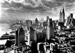 New York Cityscape 1931 Mini A2 Paper Poster