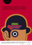 Black Framed -  Clockwork Orange Red Art Maxi Poster