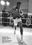 Muhammad Ali Training Quote Mini A2 Paper Poster
