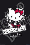 Hello Kitty - Viciously Cute Maxi Paper Poster