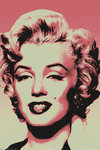Marilyn Monroe - Red Pop Art - Maxi Paper Poster
