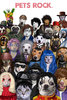 Pets Rock - Crowded - V - Maxi Paper Poster