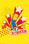 Simpson's - Bart - Striker Maxi Paper Poster