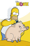 The Simpsons - Movie - Piggy Maxi Paper Poster