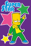 Simpson's - Bart - Superstar Maxi Paper Poster