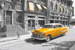 New York - Yellow Taxi - Blinds - Maxi Paper Poster
