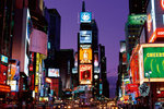 New York - Times Square at Night - H - Maxi Paper Poster