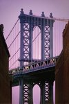 New York - Manhattan Bridge - Close Up - V - Maxi Paper Poster