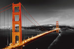 San Francisco - The Golden Gate Bridge - Maxi Paper Poster