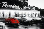 Rosie's Dinner - Red Car - Maxi Paper Poster