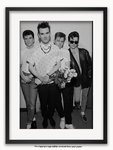 Framed with WHITE mount The Smiths Electric Ballroom London A1 rock poster