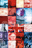 London - Patchwork Collage - Maxi Paper Poster