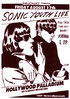 Sonic Youth A1 paper alternative rock poster