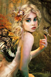 Fairy - Buttefly Wings - Touch of Gold - Maxi Paper Poster