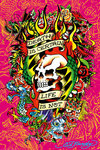 Ed Hardy  - Death is certain - Maxi Paper Poster