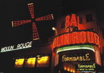 Moulin Rouge Theatre Paris Paper Poster