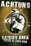 Achtung - Gaming Area - Maxi Paper Poster