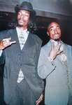 2Pac & Snoop Dog - Paper Poster