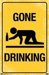Gone Drinking - Maxi Paper Poster