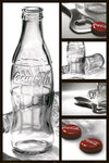 Coca Cola Bottle 4 pics R/Side - Maxi Paper Poster