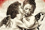 William Adolphe - Cherubs First Kiss - Pop Art - Maxi Paper Poster