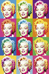 Visions of Marilyn Monroe Maxi Paper Poster