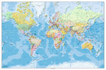 World Map - 2011 Edition - Maxi Paper Poster