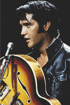 Elvis Presley King of Rock n Roll guitar Maxi Paper Poster