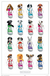 Keith Kimberlin - Sneaker Pups - Maxi Paper Poster