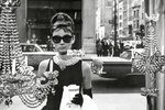 Audrey Hepburn Window - Giant Paper Poster