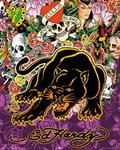Ed Hardy - Black Panther - Mini Paper Poster