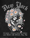 Ed Hardy - New York City, Black - Mini Paper Poster