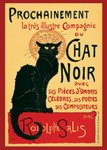 Laminated - Chat Noir French Art - Giant Poster