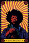 Laminated - Jimi Hendrix Physchedelic - Giant Poster