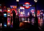 London At Night 1967 - Giant Paper Poster
