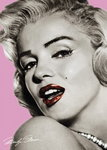 Marilyn Monroe Pink - Giant Paper Poster