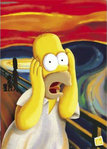 Simpsons Scream - Giant Paper Poster