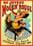 Moulin Rouge French Art - Giant Paper Poster