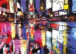 Laminated - New York Times Square Colours - Giant Poster