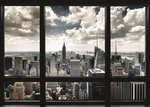 New York Window View - Giant Paper Poster