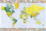 Map Of the World Maxi Paper Poster