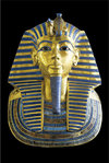 King Tutankhamun Egyptian God Maxi Paper Poster