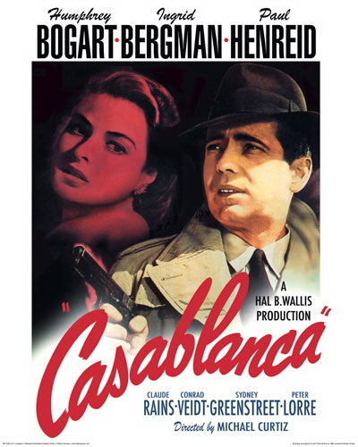 the casablanca paper An essay or paper on analysis of mise-en-scene in casablanca the movie viewed for this paper was casablanca (1942), directed by michael curtiz and starring humphrey bogart and ingrid bergman.