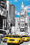 New York Times Square Yellow Taxi V Maxi Paper Poster